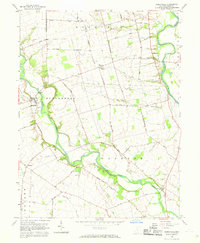 Download a high-resolution, GPS-compatible USGS topo map for Darbyville, OH (1970 edition)