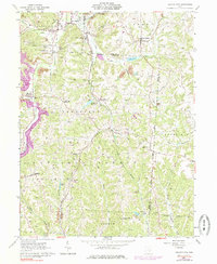 Download a high-resolution, GPS-compatible USGS topo map for Deavertown, OH (1984 edition)