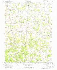 Download a high-resolution, GPS-compatible USGS topo map for Decatur, OH (1976 edition)