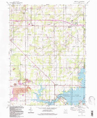 Download a high-resolution, GPS-compatible USGS topo map for Deerfield, OH (1997 edition)