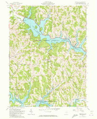 Download a high-resolution, GPS-compatible USGS topo map for Deersville, OH (1973 edition)