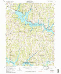 Download a high-resolution, GPS-compatible USGS topo map for Deersville, OH (1984 edition)