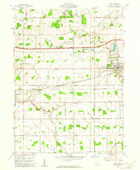 Download a high-resolution, GPS-compatible USGS topo map for Delta, OH (1962 edition)