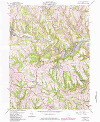 Download a high-resolution, GPS-compatible USGS topo map for Dillonvale, OH (1985 edition)