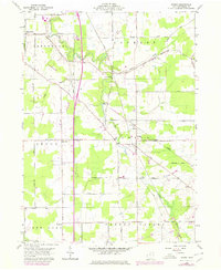 Download a high-resolution, GPS-compatible USGS topo map for Dorset, OH (1979 edition)