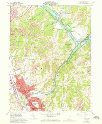 Download a high-resolution, GPS-compatible USGS topo map for Dover, OH (1972 edition)