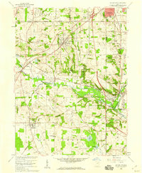 Download a high-resolution, GPS-compatible USGS topo map for Doylestown, OH (1959 edition)