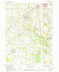 Download a high-resolution, GPS-compatible USGS topo map for Doylestown, OH (1978 edition)
