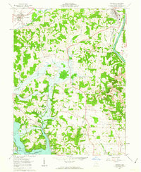 Download a high-resolution, GPS-compatible USGS topo map for Dresden, OH (1963 edition)