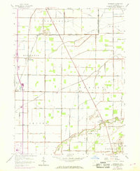 Download a high-resolution, GPS-compatible USGS topo map for Dunbridge, OH (1968 edition)