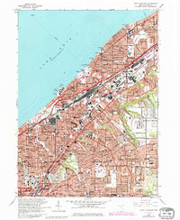 Download a high-resolution, GPS-compatible USGS topo map for East Cleveland, OH (1980 edition)