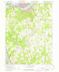 Download a high-resolution, GPS-compatible USGS topo map for East Liverpool South, OH (1978 edition)
