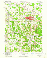 Download a high-resolution, GPS-compatible USGS topo map for East Palestine, OH (1962 edition)