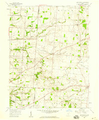 Download a high-resolution, GPS-compatible USGS topo map for East Ringgold, OH (1959 edition)