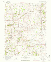 Download a high-resolution, GPS-compatible USGS topo map for East Ringgold, OH (1972 edition)