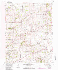 Download a high-resolution, GPS-compatible USGS topo map for East Ringgold, OH (1985 edition)
