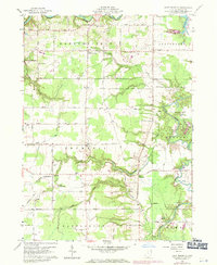 Download a high-resolution, GPS-compatible USGS topo map for East Trumbull, OH (1971 edition)