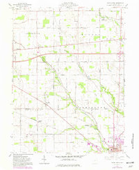 Download a high-resolution, GPS-compatible USGS topo map for Eaton North, OH (1982 edition)