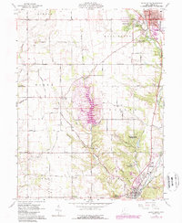 Download a high-resolution, GPS-compatible USGS topo map for Eaton South, OH (1988 edition)