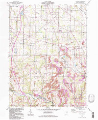 Download a high-resolution, GPS-compatible USGS topo map for Elkton, OH (1997 edition)