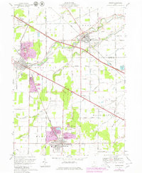 Download a high-resolution, GPS-compatible USGS topo map for Elmore, OH (1980 edition)
