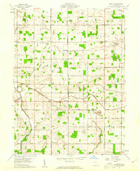 Download a high-resolution, GPS-compatible USGS topo map for Erastus, OH (1961 edition)