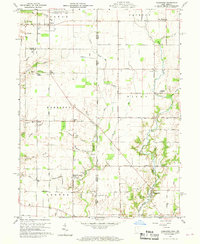 Download a high-resolution, GPS-compatible USGS topo map for Fairhaven, OH (1969 edition)