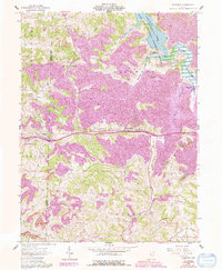 Download a high-resolution, GPS-compatible USGS topo map for Fairview, OH (1992 edition)