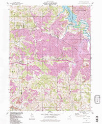Download a high-resolution, GPS-compatible USGS topo map for Fairview, OH (1998 edition)