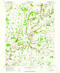Download a high-resolution, GPS-compatible USGS topo map for Fayetteville, OH (1962 edition)