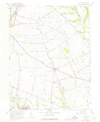 Download a high-resolution, GPS-compatible USGS topo map for Five Points, OH (1975 edition)