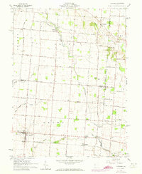 Download a high-resolution, GPS-compatible USGS topo map for Fletcher, OH (1973 edition)
