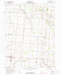 Download a high-resolution, GPS-compatible USGS topo map for Fletcher, OH (1990 edition)