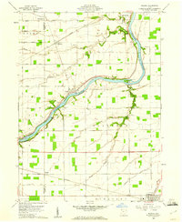 Download a high-resolution, GPS-compatible USGS topo map for Florida, OH (1961 edition)