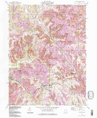 Download a high-resolution, GPS-compatible USGS topo map for Flushing, OH (1998 edition)