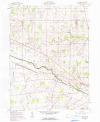 Download a high-resolution, GPS-compatible USGS topo map for Foraker, OH (1990 edition)