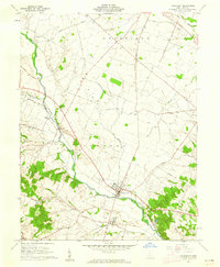 Download a high-resolution, GPS-compatible USGS topo map for Frankfort, OH (1962 edition)