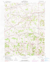 Download a high-resolution, GPS-compatible USGS topo map for Fredonia, OH (1990 edition)