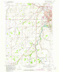 Download a high-resolution, GPS-compatible USGS topo map for Fremont West, OH (1980 edition)