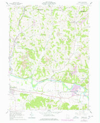 Download a high-resolution, GPS-compatible USGS topo map for Fresno, OH (1978 edition)