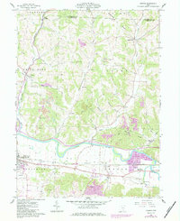 Download a high-resolution, GPS-compatible USGS topo map for Fresno, OH (1984 edition)