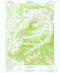 Download a high-resolution, GPS-compatible USGS topo map for Fultonham, OH (1977 edition)
