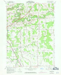 Download a high-resolution, GPS-compatible USGS topo map for Gageville, OH (1971 edition)