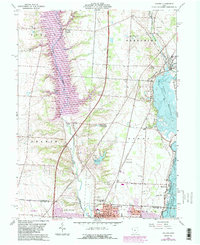 Download a high-resolution, GPS-compatible USGS topo map for Galena, OH (1983 edition)
