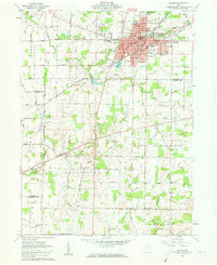 Download a high-resolution, GPS-compatible USGS topo map for Galion, OH (1962 edition)