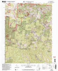 Download a high-resolution, GPS-compatible USGS topo map for Gallia, OH (2006 edition)