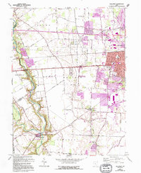Download a high-resolution, GPS-compatible USGS topo map for Galloway, OH (1995 edition)