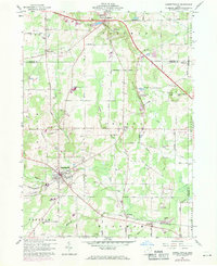 Download a high-resolution, GPS-compatible USGS topo map for Garrettsville, OH (1971 edition)