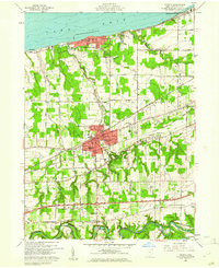 Download a high-resolution, GPS-compatible USGS topo map for Geneva, OH (1961 edition)
