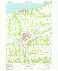 Download a high-resolution, GPS-compatible USGS topo map for Geneva, OH (1970 edition)